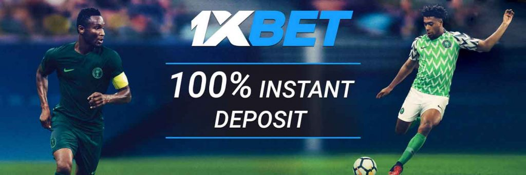 Registration with 1xBet